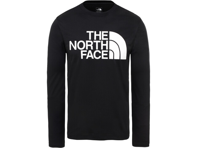 The North Face Flex II Big Logo LS Herr TNF Black/TNF White
